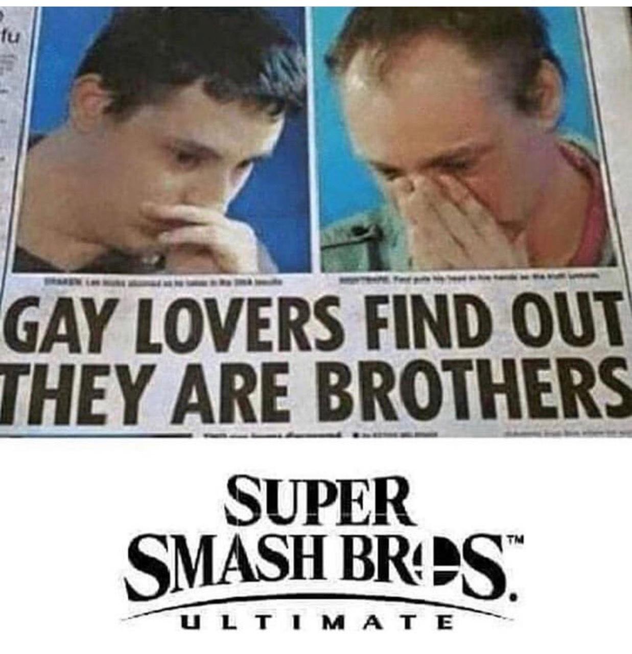 Smash brothers - meme