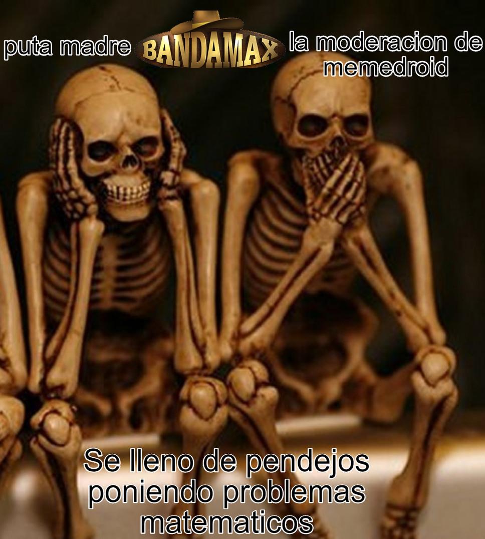 ACEPTEN QUE NINGUNO DE SUS PROBLEMAS MATEMATICOS VA A PASAR DE MODERACION - meme