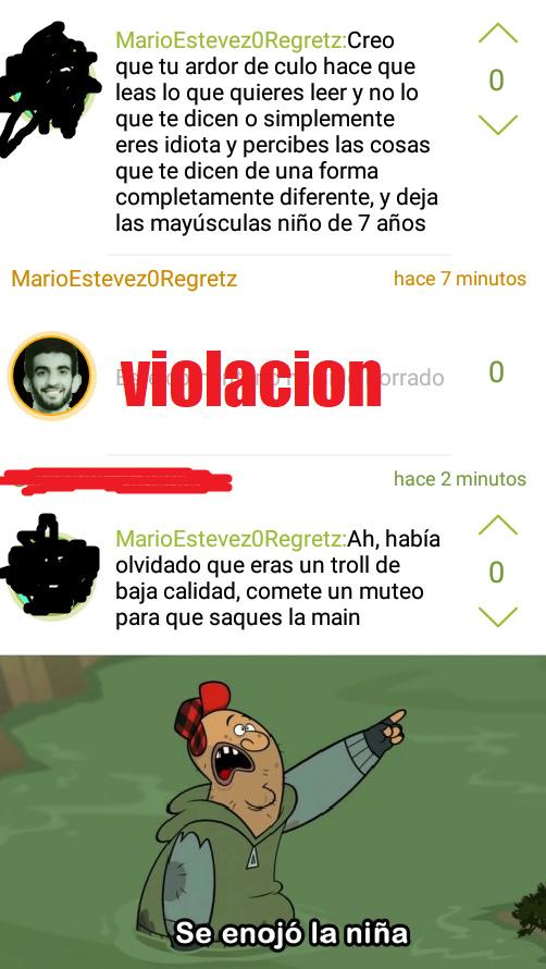 TAPO EL NOMBRE PARA NO DARLE ATENCION A LA MINA - meme