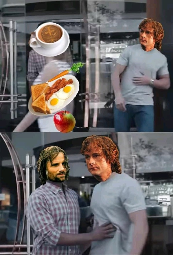 2nd breakfast - meme
