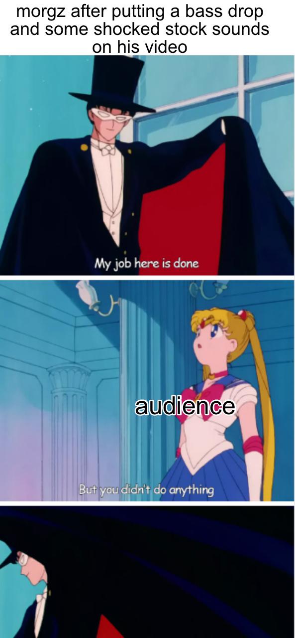 Morgz sucks ass - meme
