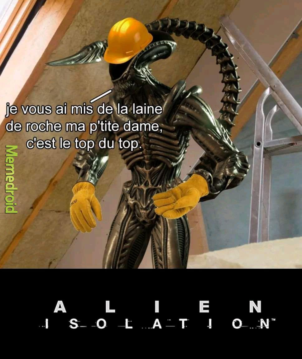 Alien isolation - meme