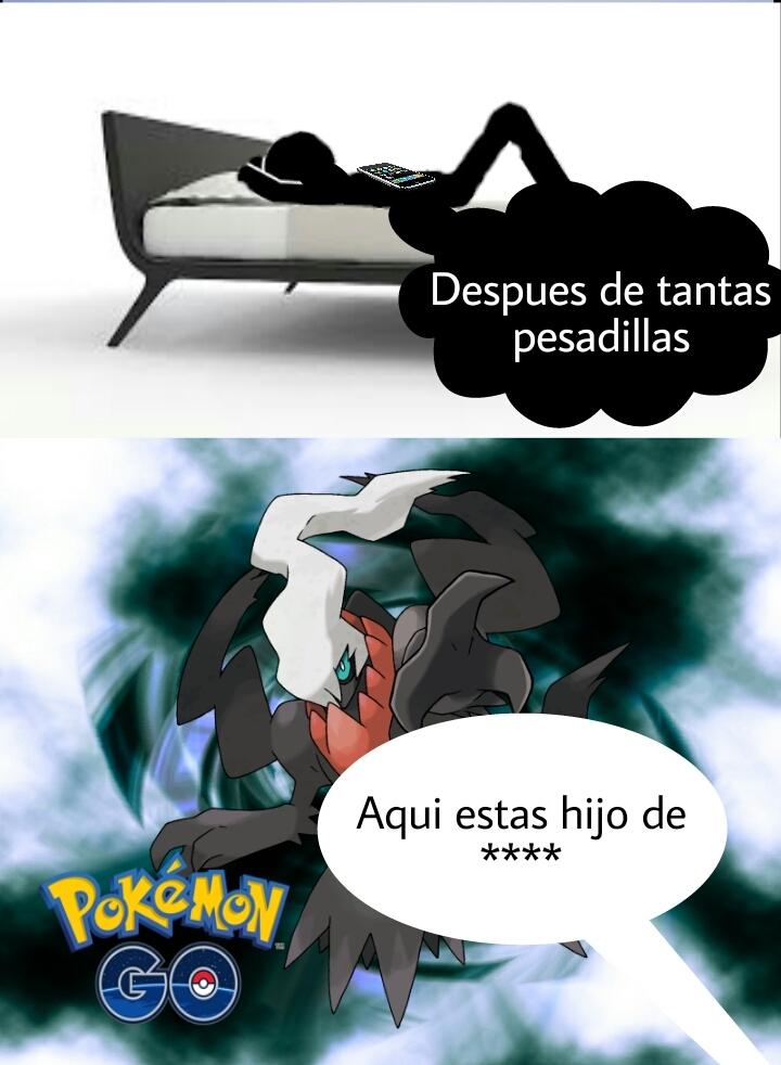 Pokemon go :v - meme