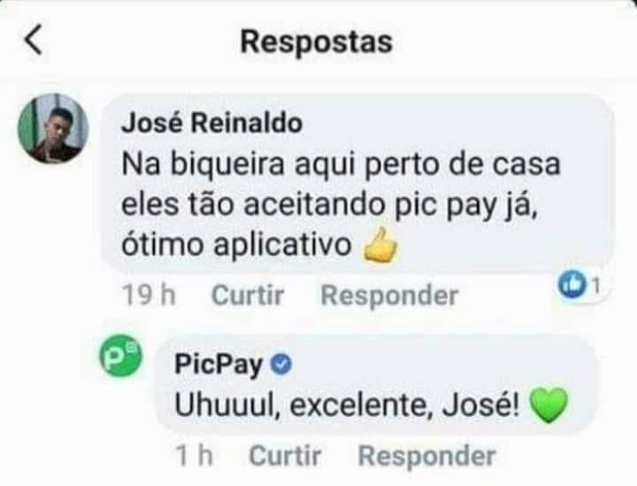 Picpay, sem distinção e negócios - meme