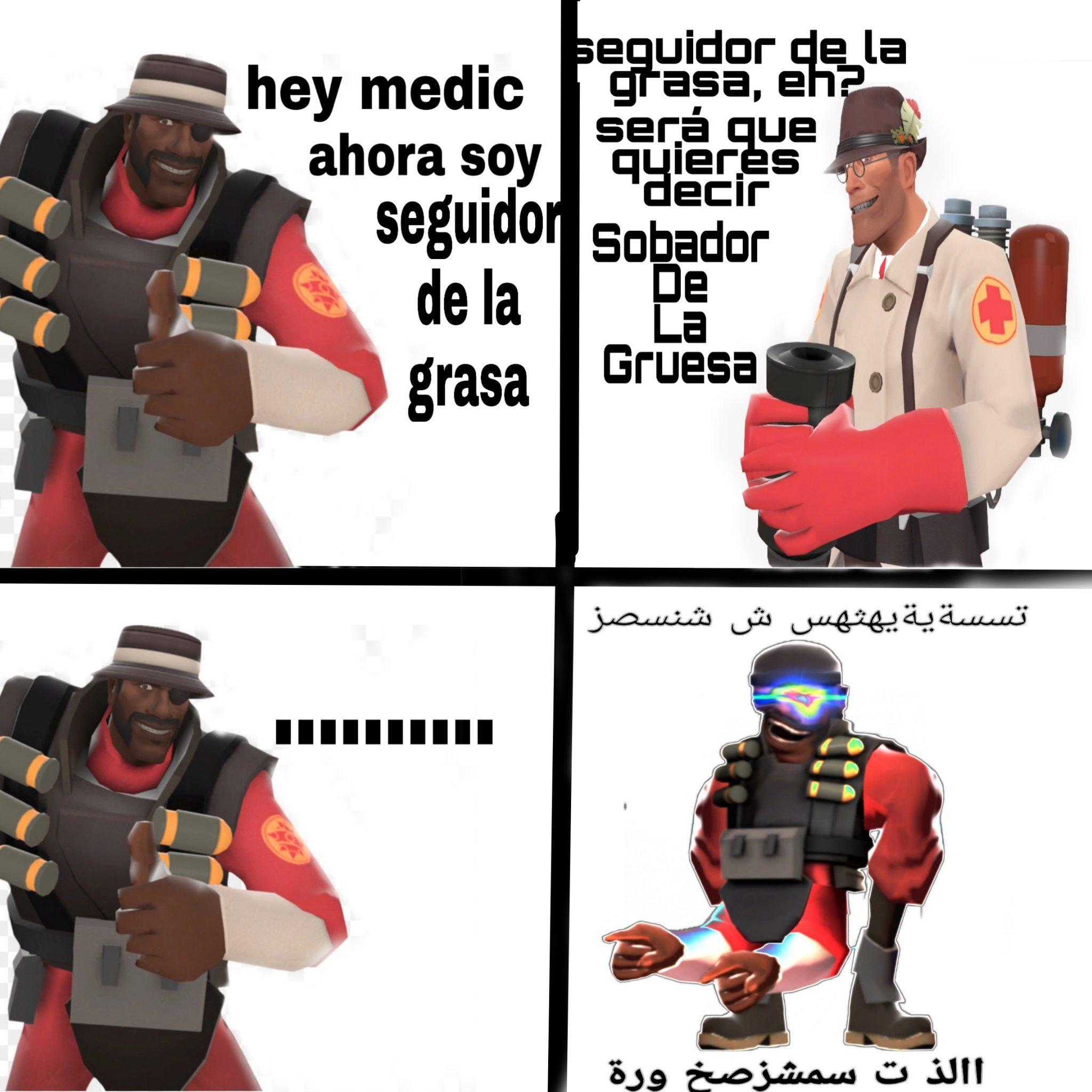 Un kpo el médico - meme