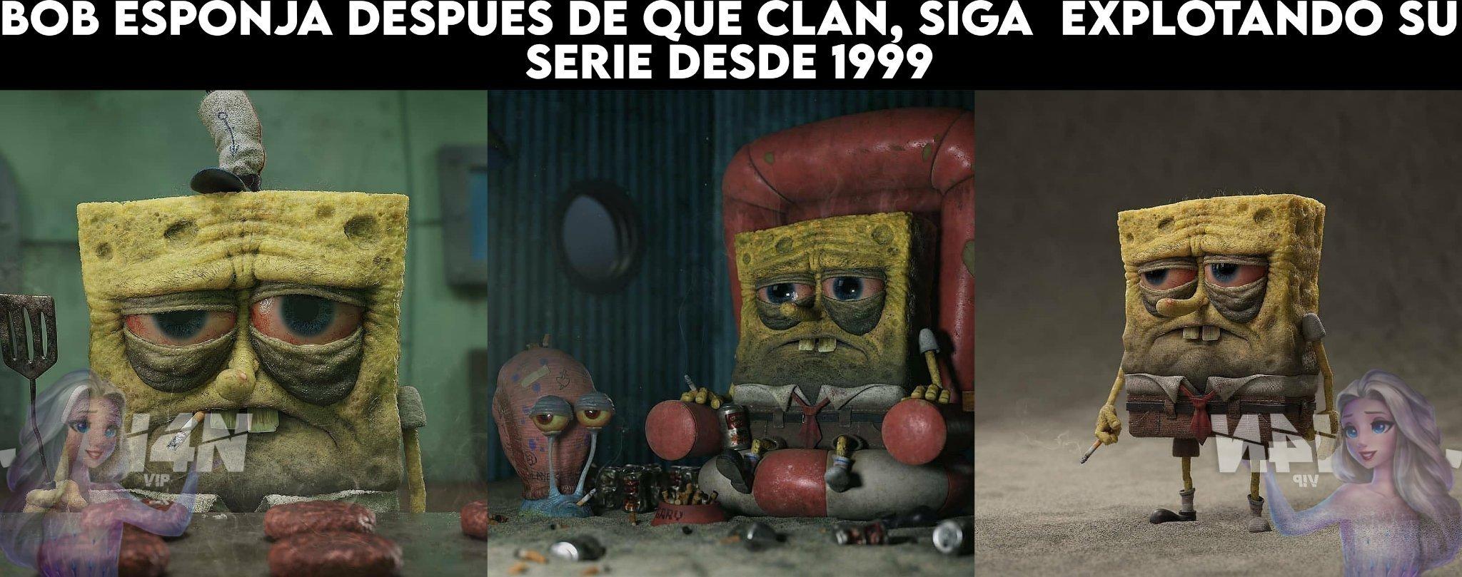 Noo Bob esponja >;( - meme