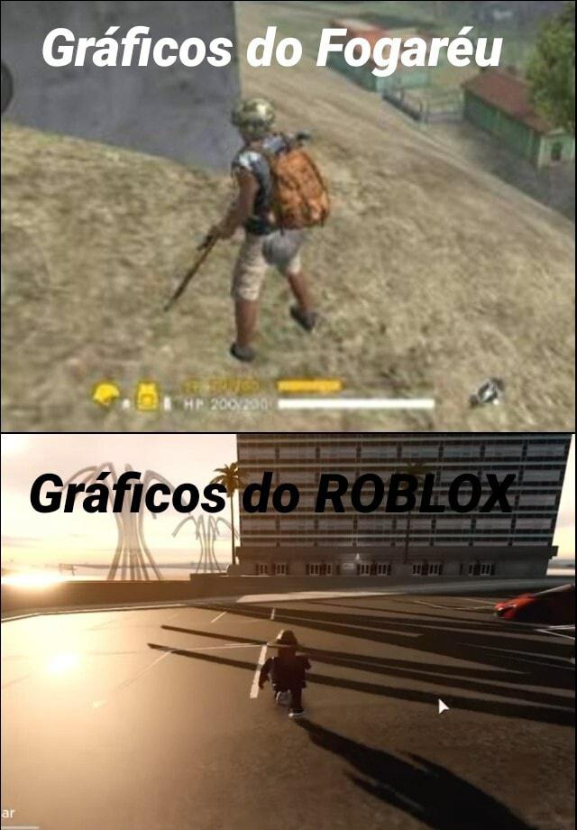 Roblox > Free Fire - meme