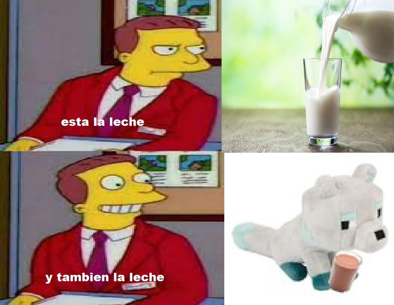 meme para la leche