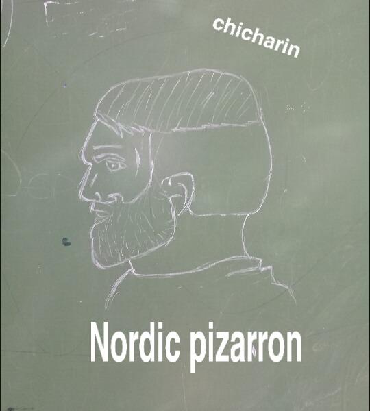 Nordic pizarron - meme