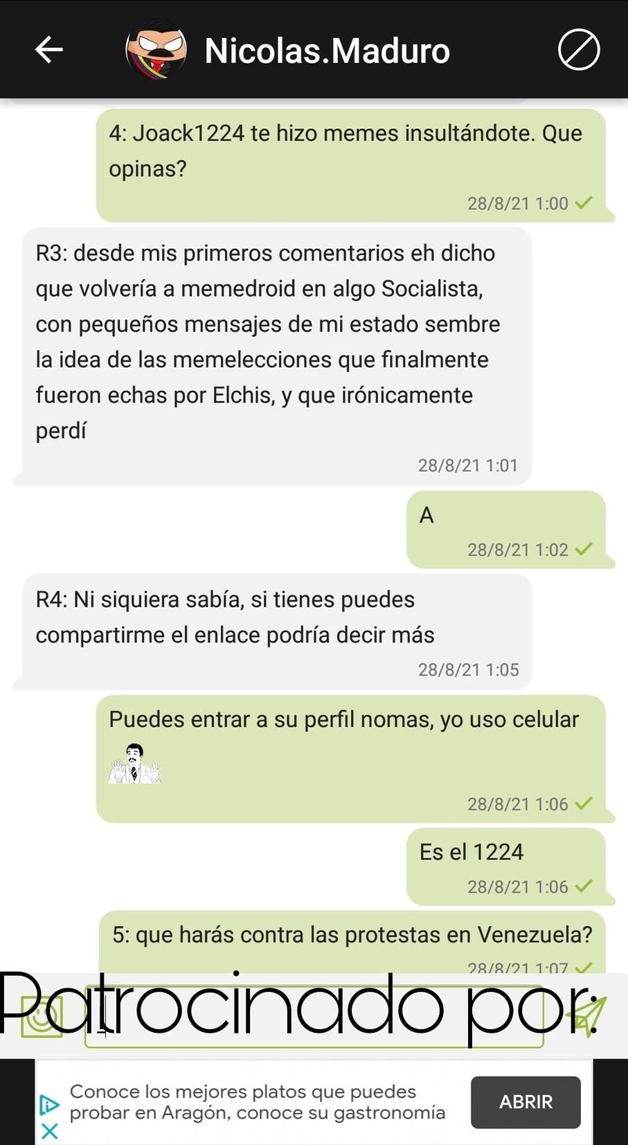 Memeentrevistas, cap 1, pt 2: Nicolás Maduro