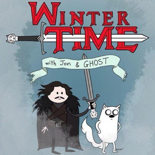 hora del invierno - meme