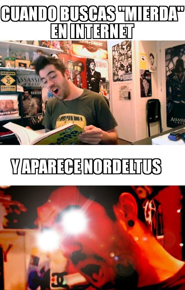 Nordeltus cancerígeno - meme