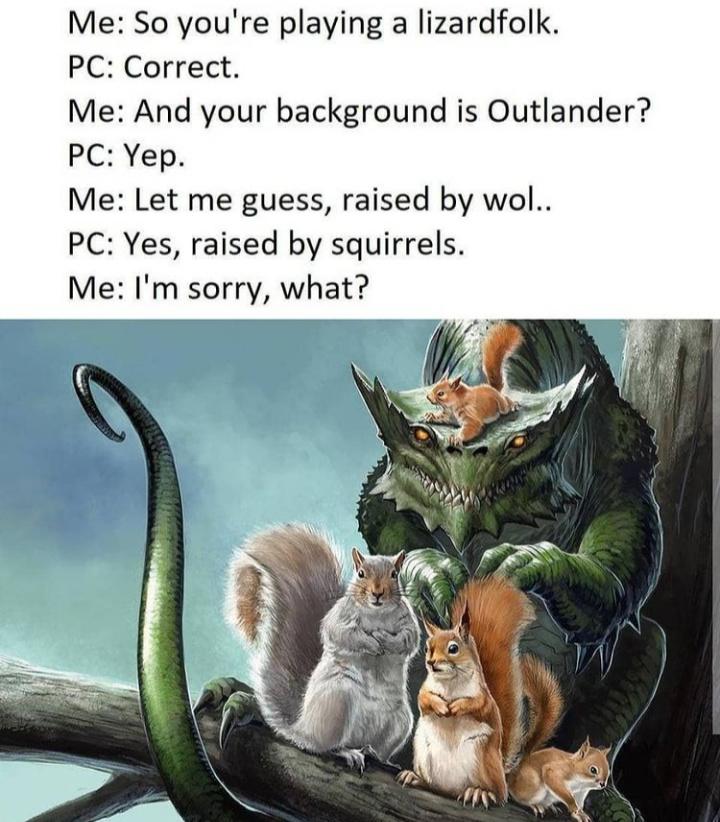 Lizard - meme