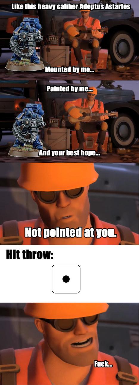Warhammer in a nutshell - meme
