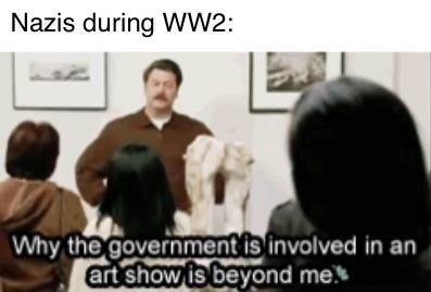 Art school Shmart school - meme