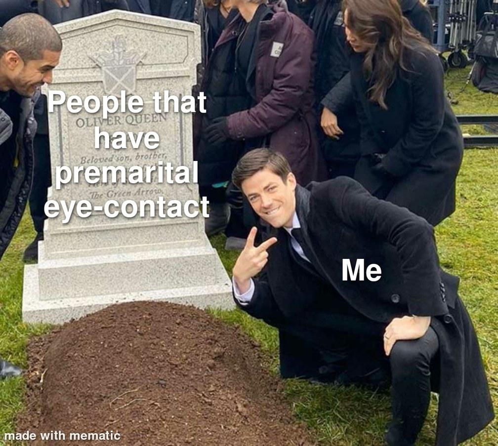 PDA is a sin - meme