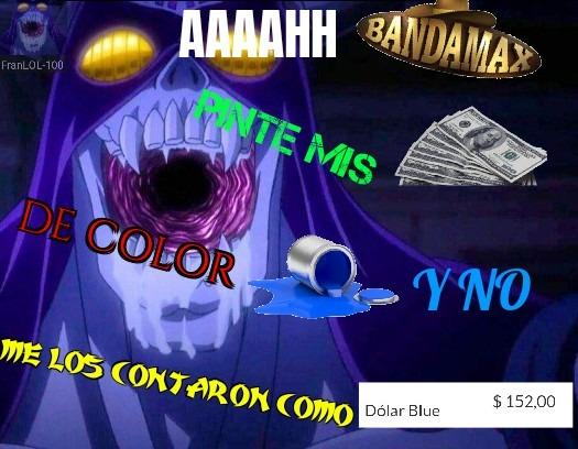 Dólar Blue - meme