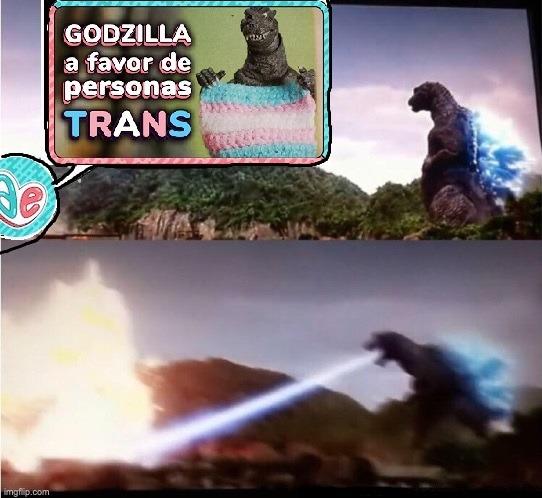 Godzillas es mas hetero que las personas un capo el godzilla :chad: - meme