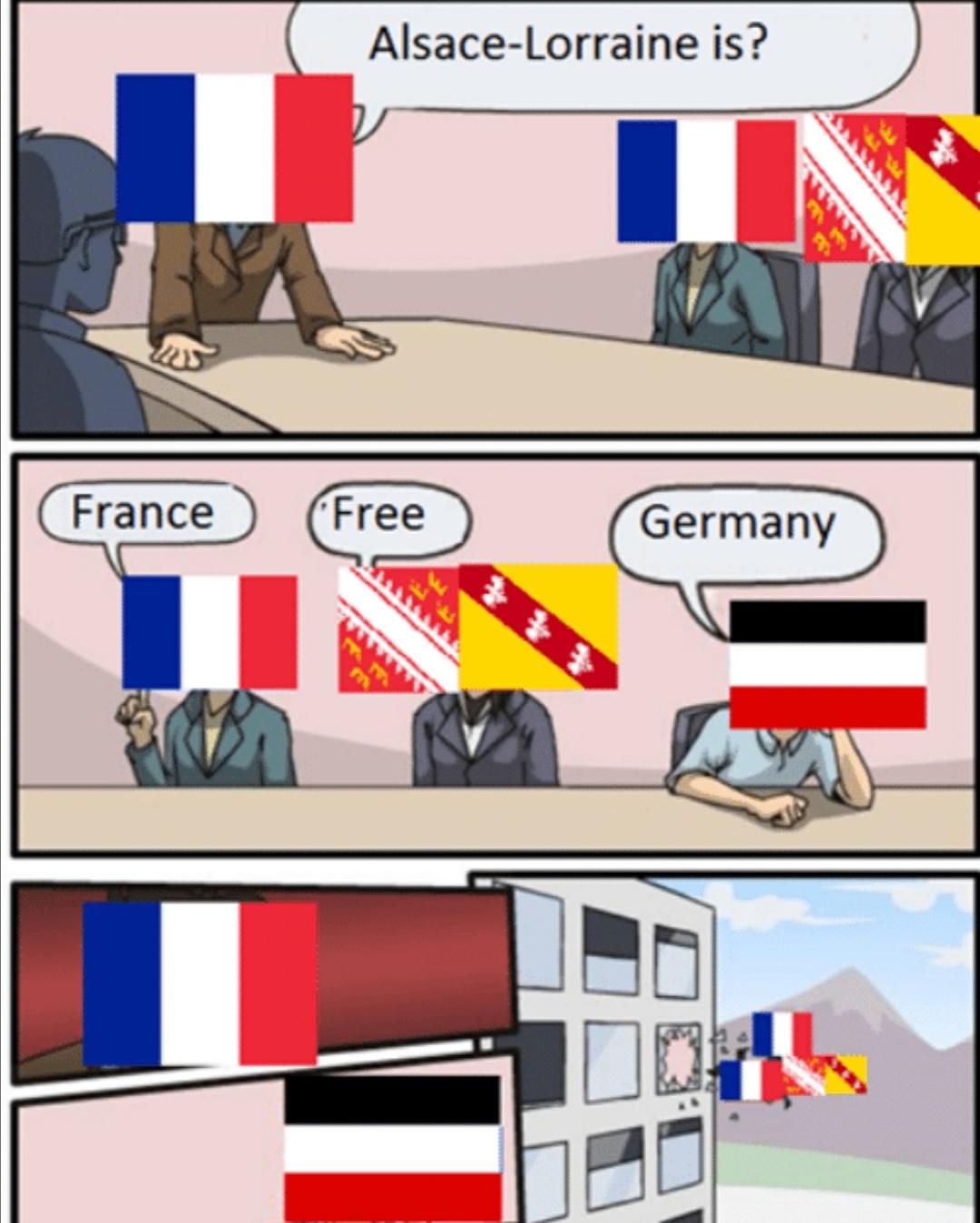 Un débat éternelle - meme