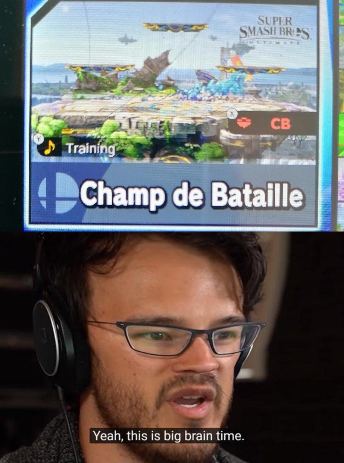 Champ de bataille version champ de bataille - meme