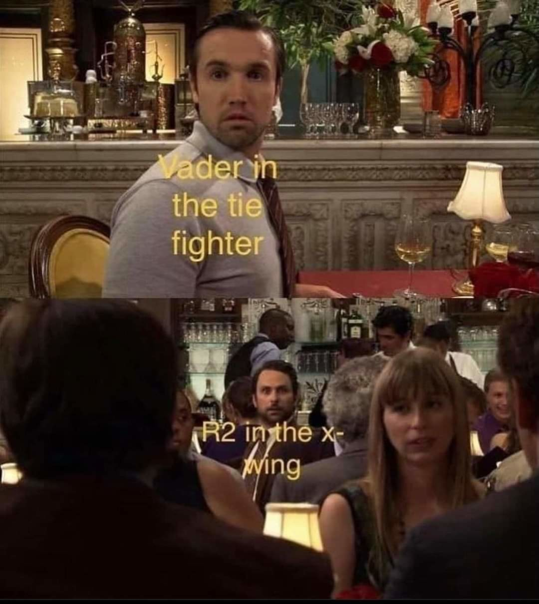Shock and surprise - meme