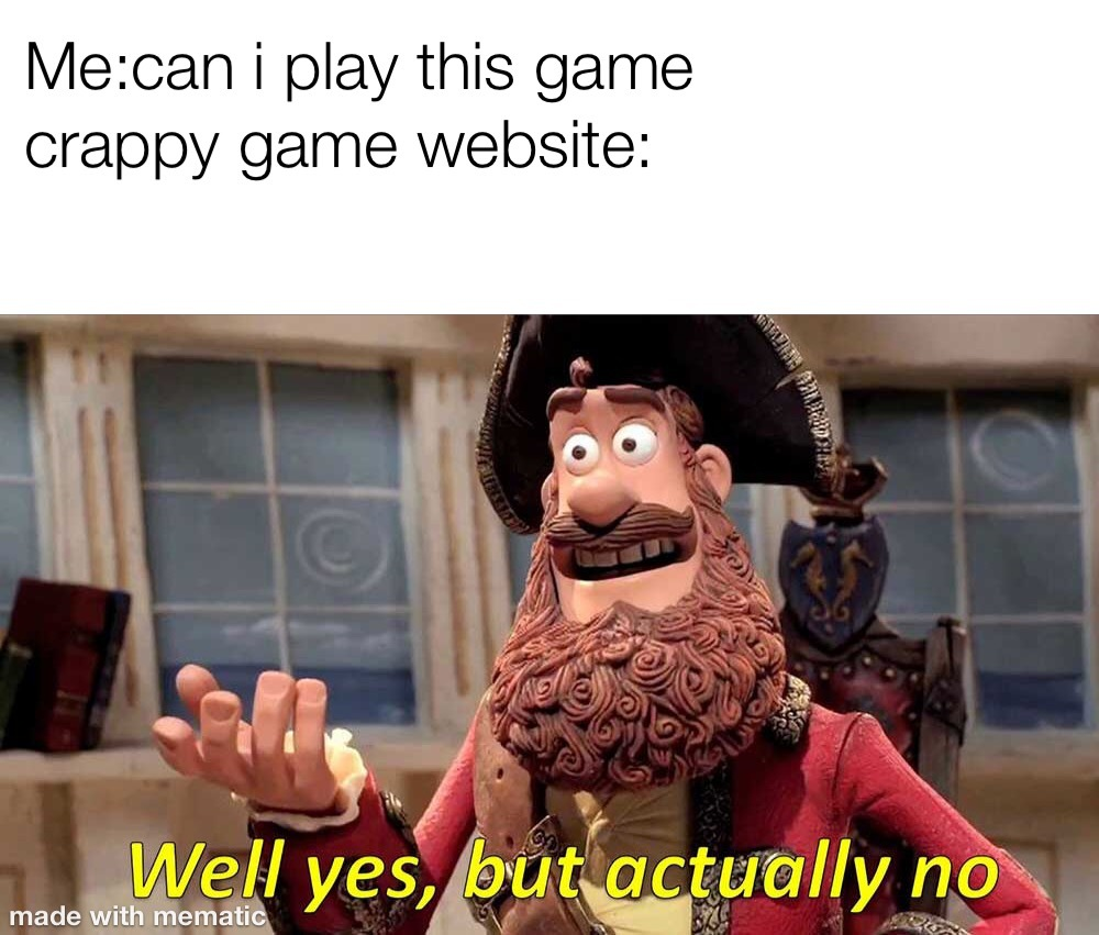 Will this game work - meme