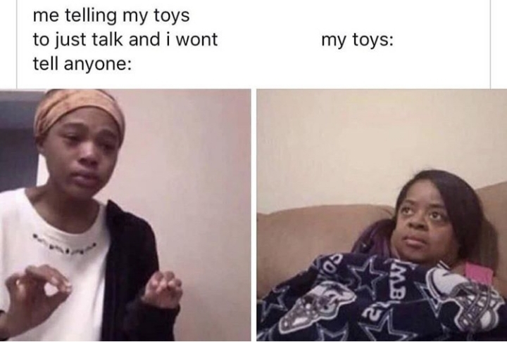Me after watching Toy Story - meme
