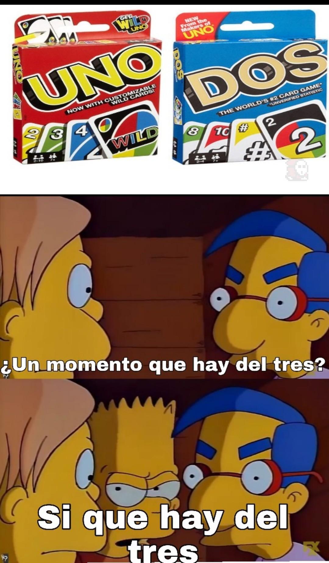 Tres - meme