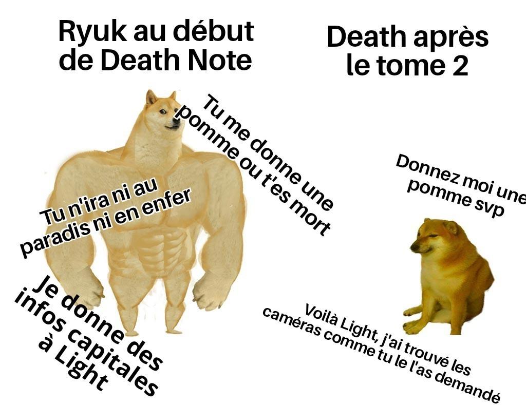 Ryuk avant/après - meme