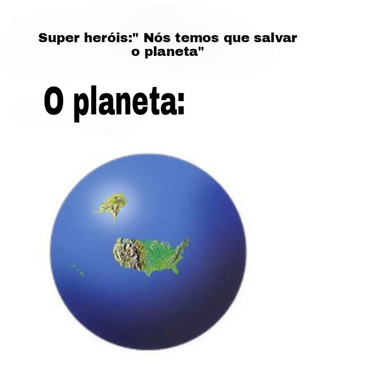 Planeta estados unidos - meme