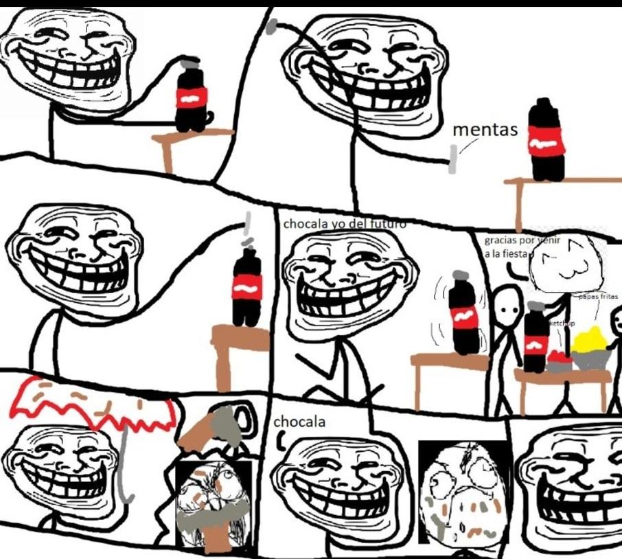 Broma de coca cola :D - meme