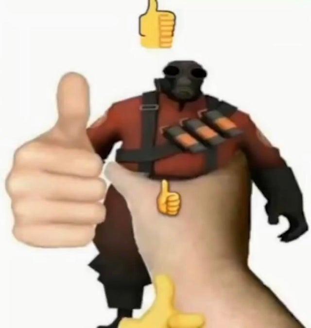 no puedo poner el emoji de like pq no me lo sube - meme