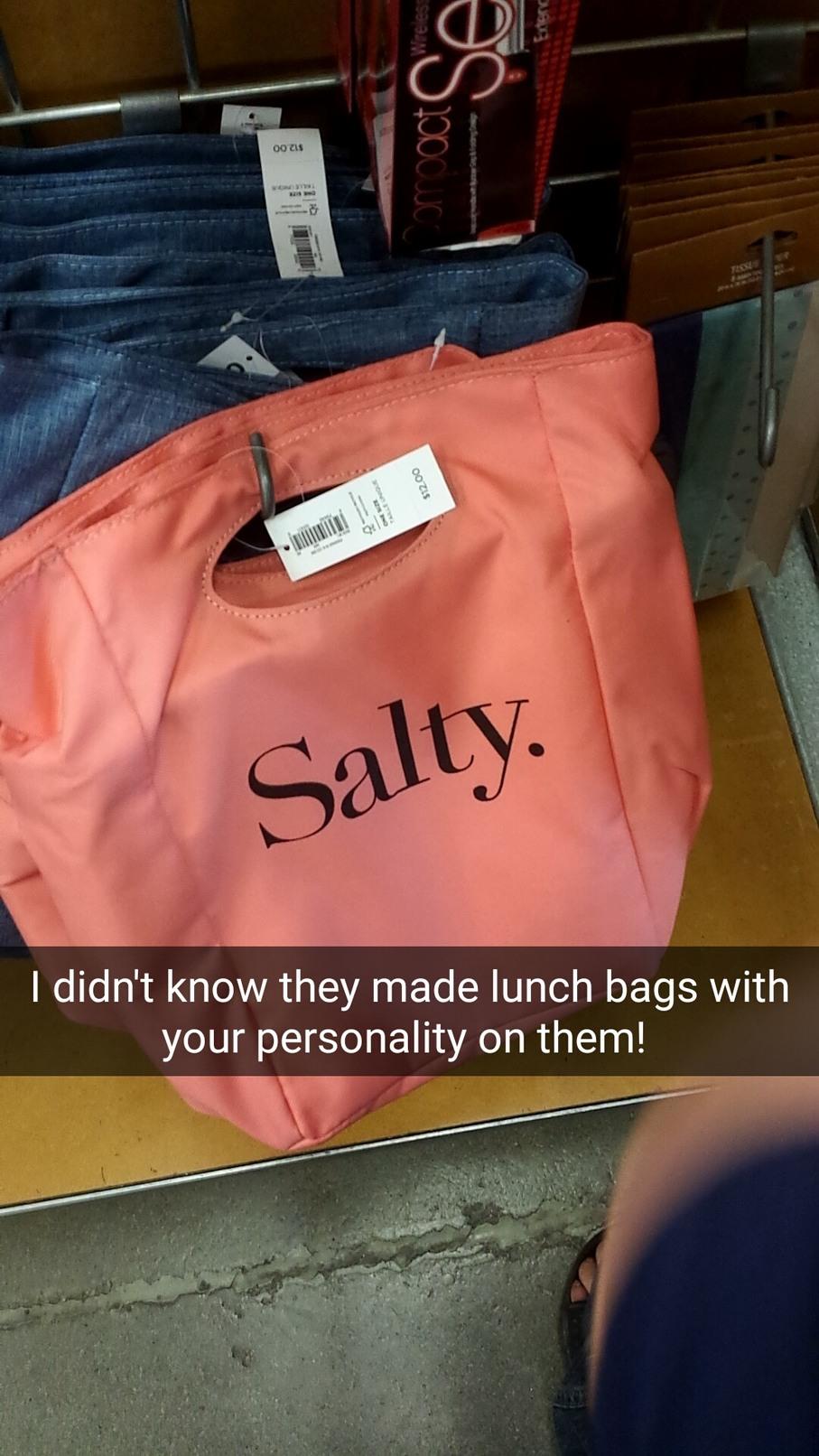Super salty - meme