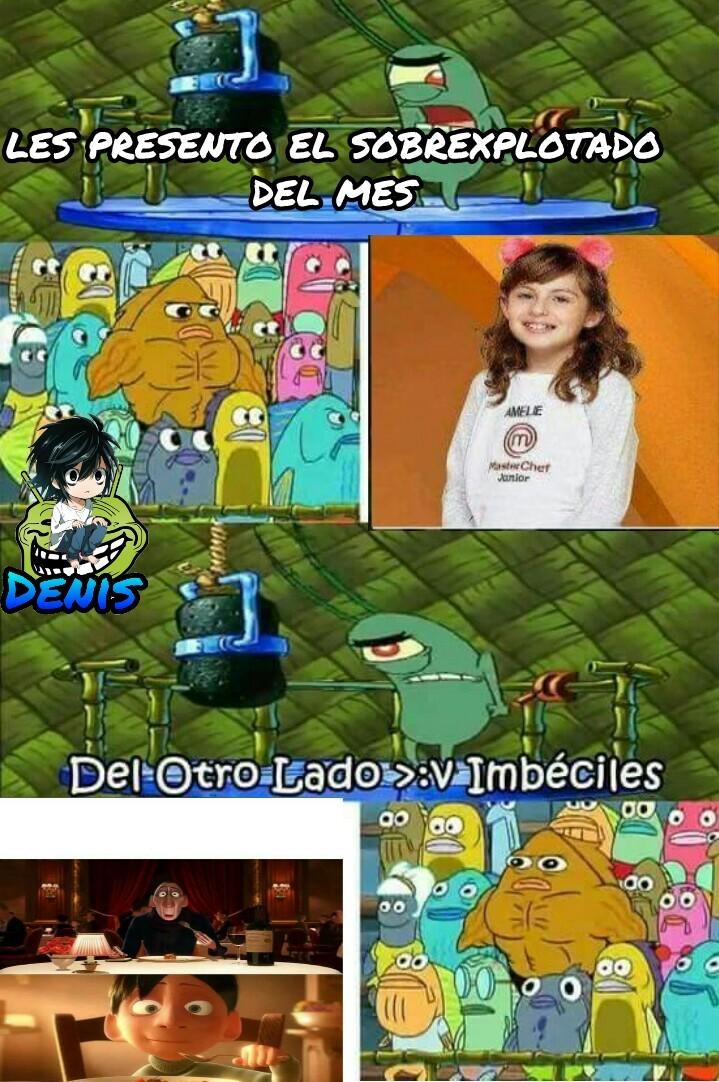 Mis Ratatouille :c - meme