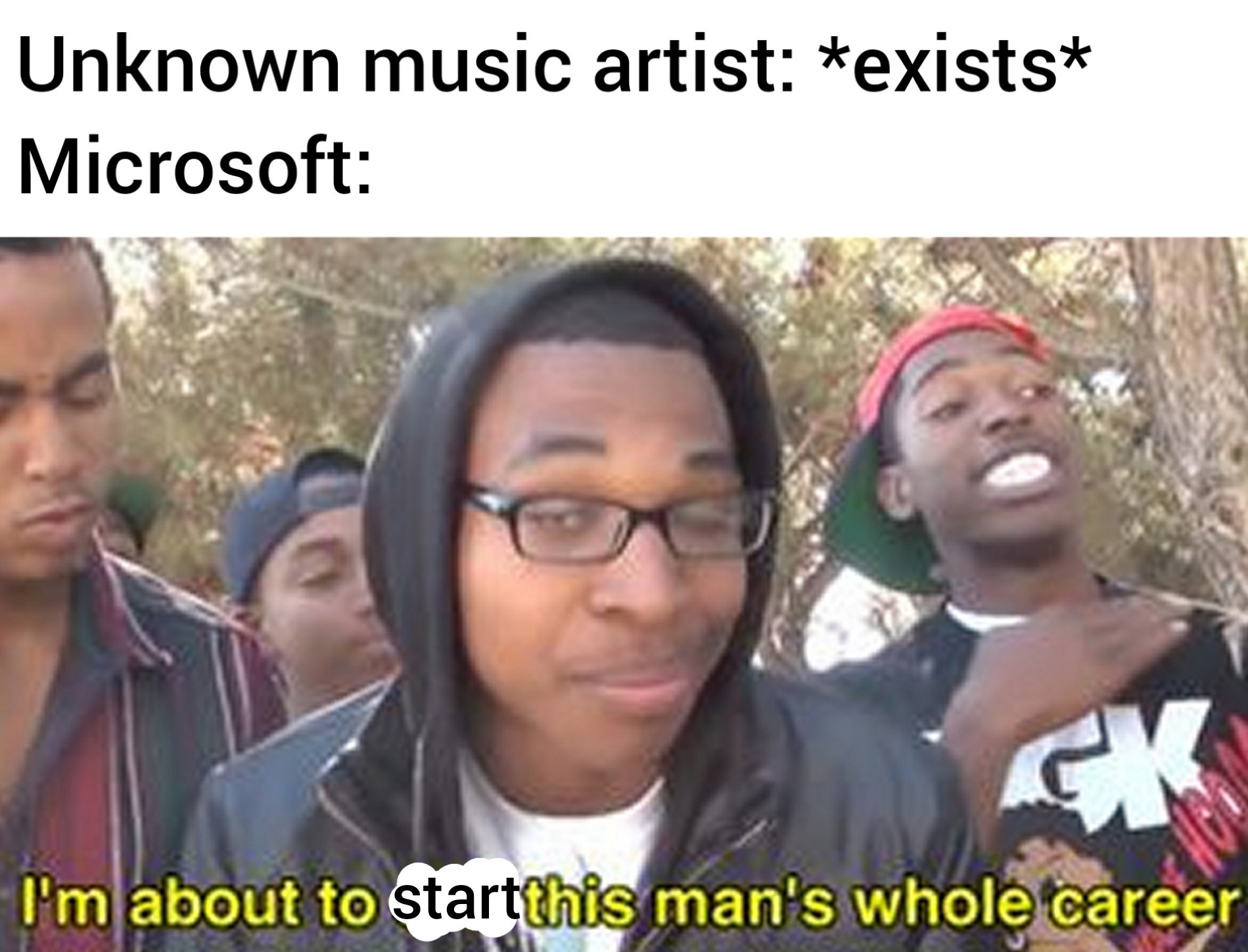 If you don't get it watch the Windows Terminal video - meme