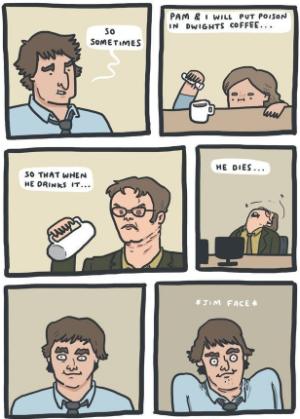Jim face - meme
