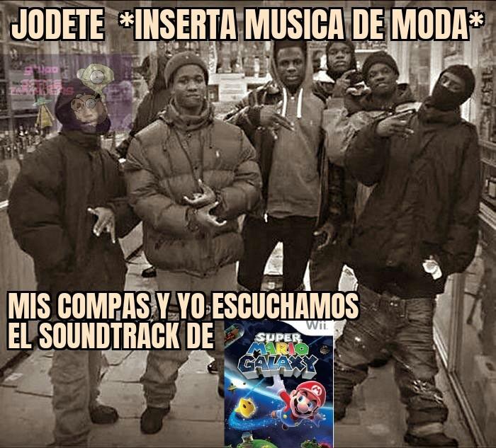 Tremendo soundtrack - meme