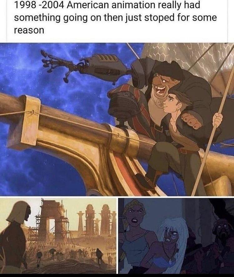 also titan ae - meme