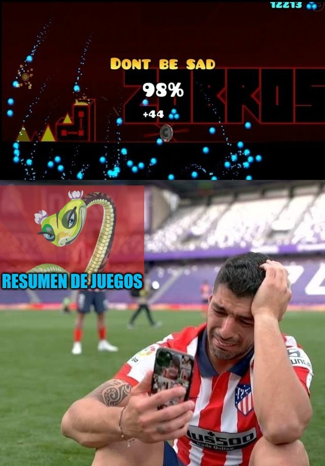 Yo dije que no volveria a Memedroid a menos que el atletico de Madrid gane la liga... Y henos aqui :really: Luisgod