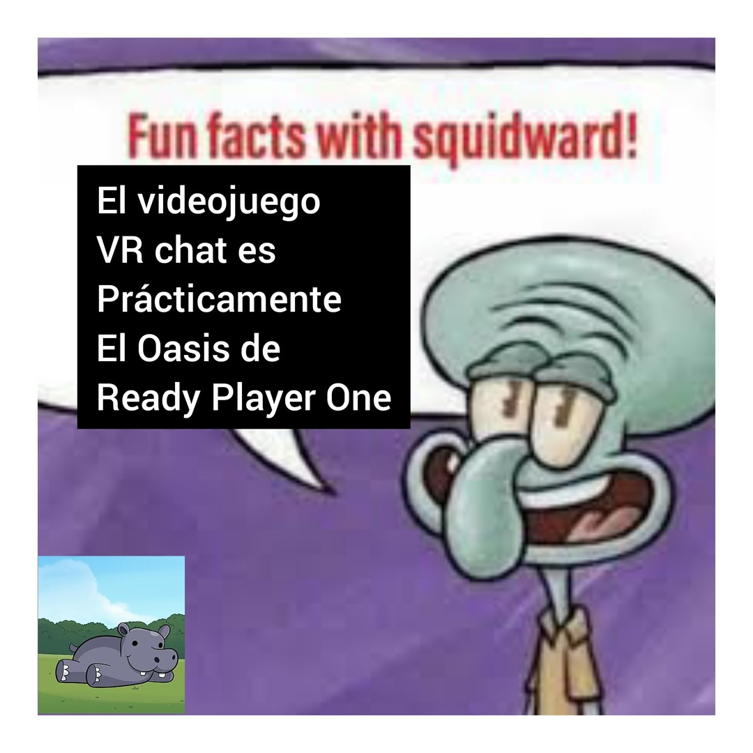 Jugadores de VR chat, ¿confirman? - meme
