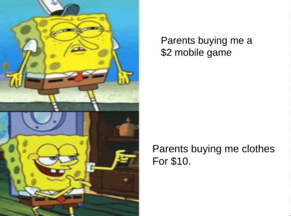 True, for me. - meme