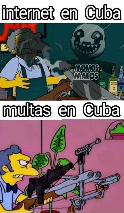 Cuba momo - meme