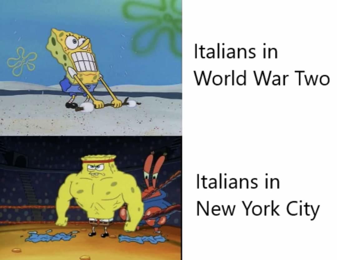 Mussolini was a joke - meme