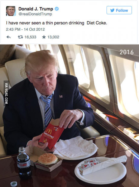 Trump-Cola Diet - meme