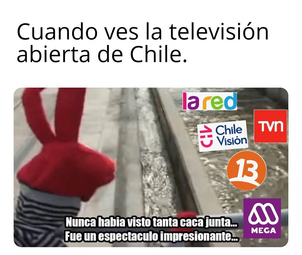 Pa los cabros chilenos - meme