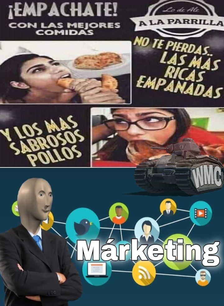 Márketing B) - meme