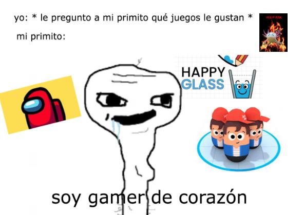 primito gamer - meme
