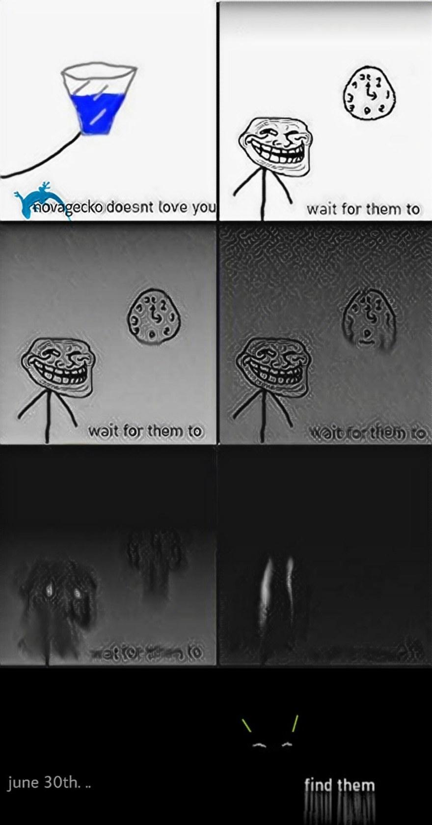 behind you - meme