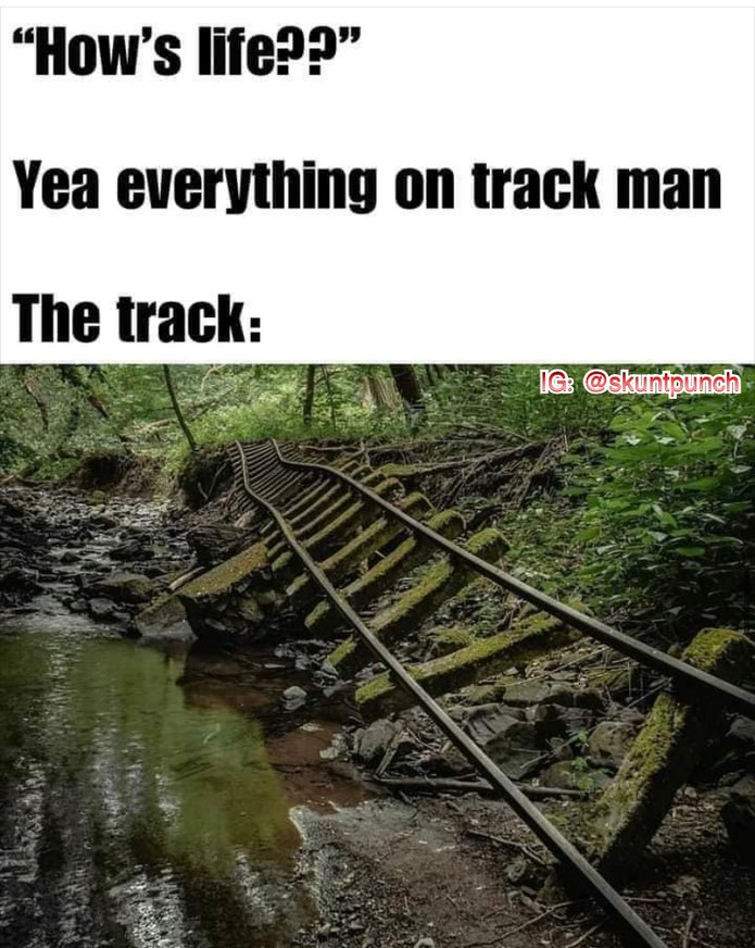 track - meme