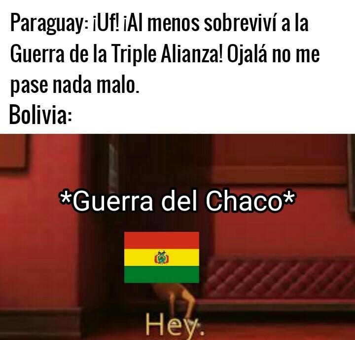 Pobre Paraguay - meme